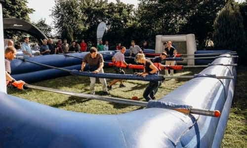 Conout – Human Table Soccer als Team-Event