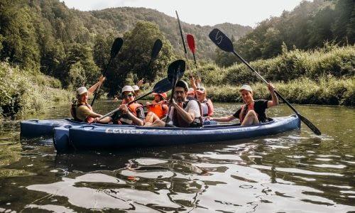 Conout –Kanutouren mit dem Team erleben!