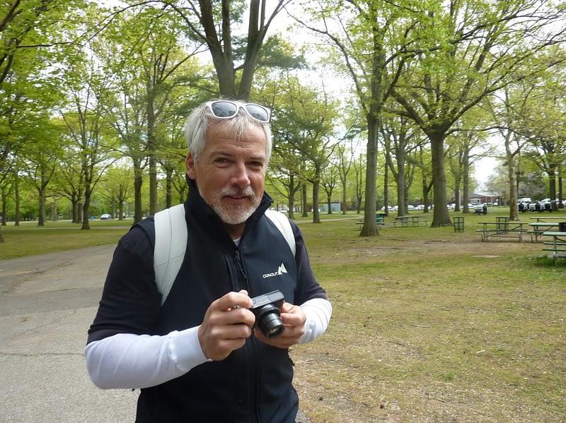 Markus Ried hält die Höhepunkte der TDCP-Aktivitäten im Freien fest.