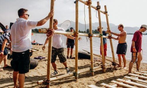 Conout – Floßbau als Team-Event